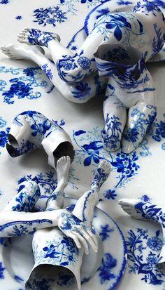 Flow Blue - Artist Kim Joon