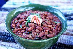 Homemade Charro Beans. Gonna try them tonight.