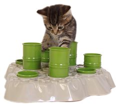 Stimulo Cat Feeding Station & Activity Center ($28.95)