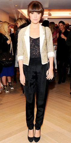 Rose Byrne- not quite a red carpet but love this look