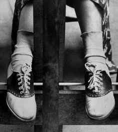 Bobby socks and saddle shoes