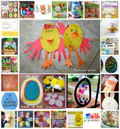 40 Easter Activities for School Aged Kids from the After School Linky at The Educators' Spin On It