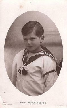 Prince George of Wales, later Duke of Kent