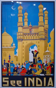 See India poster Hyderabad