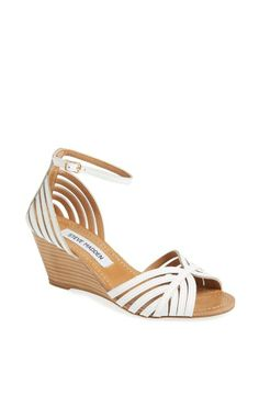 Summer must-have! Strappy wedge sandal by Steve Madden