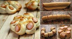 sausages, bread, food idea, crescent rolls, christma food, sausage rolls, snack, sausag bun