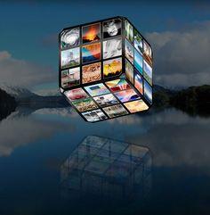 Geocube: fantastic interactive site