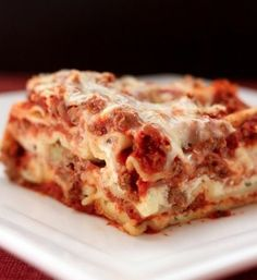Recipe For Worlds Best Lasagna - This Lasagna Is Amazing. It Is Called The World's Best Lasagna, And It All Comes Together Into The Perfect Bite Of Hot, Cheesy, Meaty, Saucy Deliciousness.