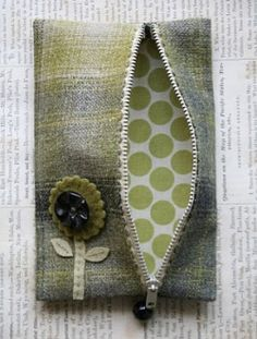 DIY Sweet Posy Coin Purse