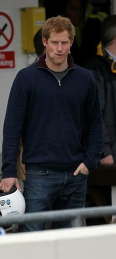 Prince Harry... looking great!