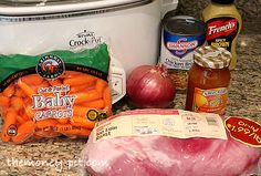 The Money Pit: Apricot Glazed Pork Loin in the Slow Cooker