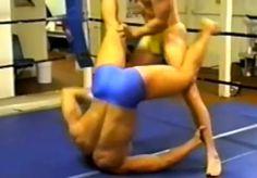 Video: Vintage Muscle Wrestling In Speedos