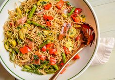 Spaghetti Salad with
