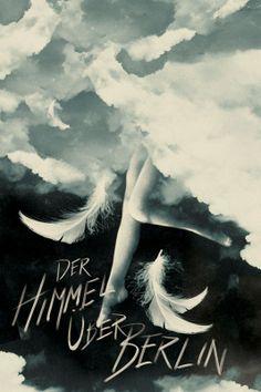 Wings of Desire (Der Himmel uber Berlin) (1987) ~ Minimal Movie Poster by Brandon Schaefer
