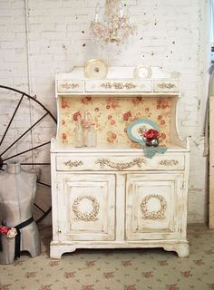 Painted Cottage Shabby Tea Stained Farmhouse by paintedcottages