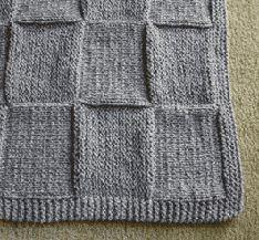 Knit Baby Blanket 2
