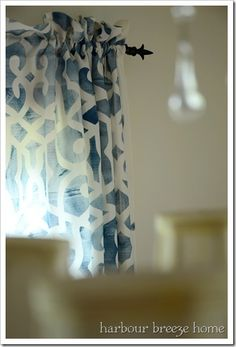 How to Turn a Tablecloth into a Rod Pocket Curtain