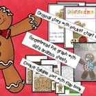 Gingerbread Man BEST SELLER 7 weeks in a row.  (see feedback)This unit has a ton of activities!  It includes: an original Gingerbread Man story wri...