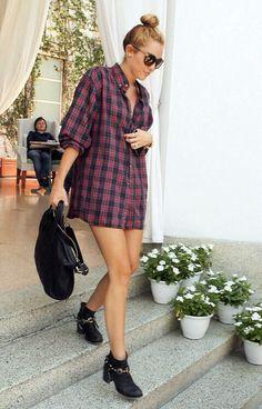 Miley Cyrus Street Style