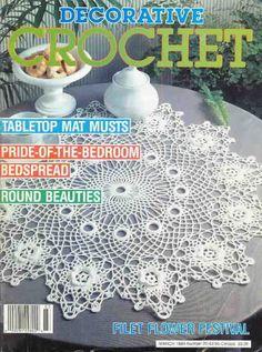 Decorative Crochet Magazines 14 – Gitte Andersen – Picasa tīmekļa albumi