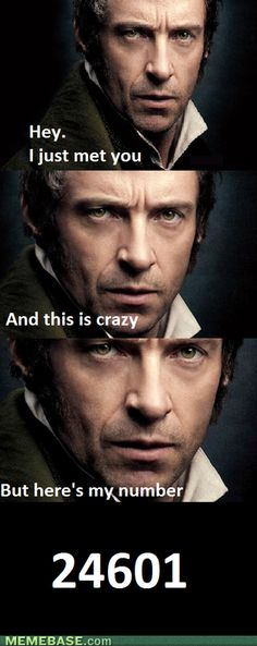We can all go home now. The best Les Mis meme has been found.