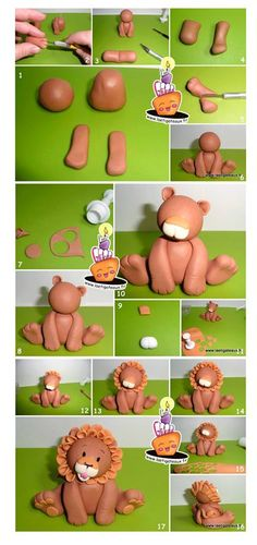 Lion Topper Picture Tutorial