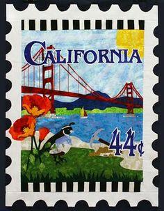 California quilt by Debra Gabel at Zebra Patterns