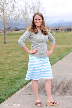 knee length skirt pattern, kneelength skirt, knit skirt tutorial