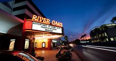 Take in a movie at the vintage River Oaks Theatre, showing both popular and art films, along with popular older movies like Rocky Horror, Forbidden Planet and The Princess Bride shown as midnight features on weekends.