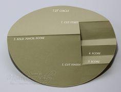 circle step card