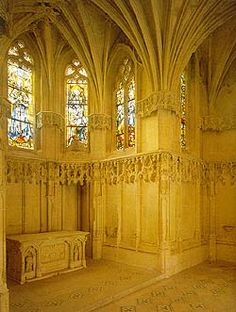 Burial place of Leonardo Da Vinci in Ambois Castle, France