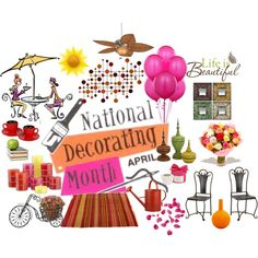 APRIL: National Decorating Month! Decorating AND Spring? Why, yes, thank you!