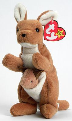 Pouch - Kangaroo - Ty Beanie Babies