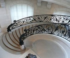 railings, stairs, mansion, stairway, dream, foyer, spiral staircases, art nouveau, design