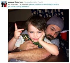 Jep with son River
