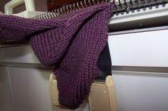 sock tutori, machine knit socks