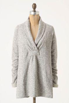 Top-Ranked Sweatshirt. I like that it doesn't LOOK like a sweatshirt.