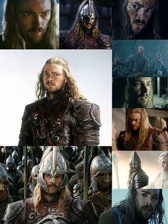 Eomer   Karl Urban One of my favorite characters. Love reading about him in the books!