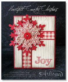 Stampin' Up! Christmas by Connie C: Country Christmas