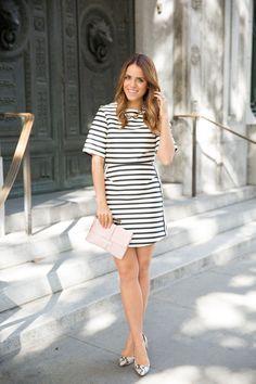 Striped Dress #stripes #dress #fashion