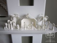quill nativ, paper quill, 3d paper, nativity sets, scene complet, papers, nativ scene, nativity scenes, christma