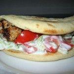 Greek Chicken Pitas with Tzatziki Sauce Recipe