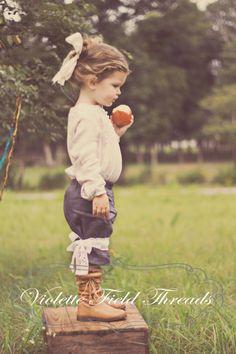 Charlotte Pantaloons PDF Pattern  Tutorial, Sizes 12 months-6 years