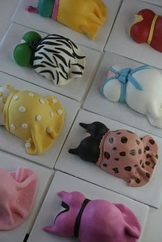 miniature cakes, baby shower cakes, little cakes, baby shower ideas, miniatur cake