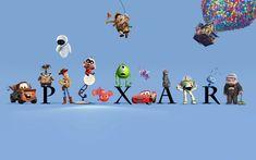 All Pixar characters make me smile!