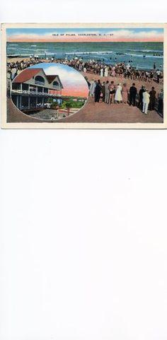 Isle of Palms, Charleston, S.C.  Postmarked 1947