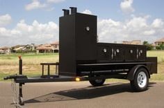 BBQ Trailers For Sale | Old Country BBQ Pits - Portable trailer insulated BBQ smokers and ...