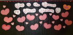 Checkout this great post on Bulletin Board Ideas