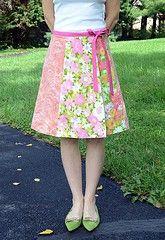 Vintage Sheet Skirt Tutorials