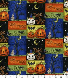 Holday Inspirations Fabric-Nightmare Halloween : holiday fabric : fabric :  Shop | Joann.com